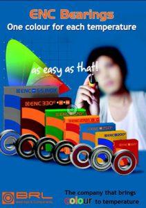 Catalogo de Rodamientos de temperatura ENC Bearings