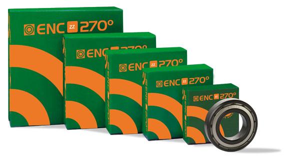 Gama de Rodamientos para alta temperatura ENC270